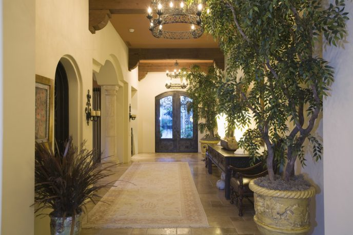 California entry way