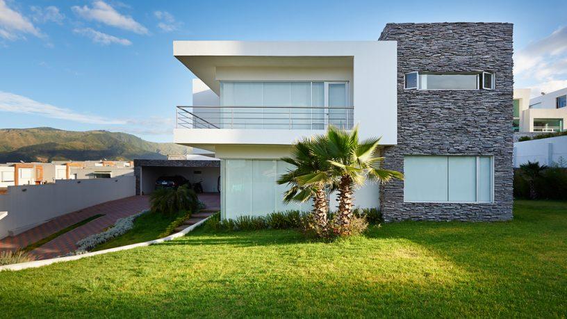 Great grass modern house