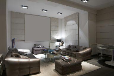 Trendy sofa living room