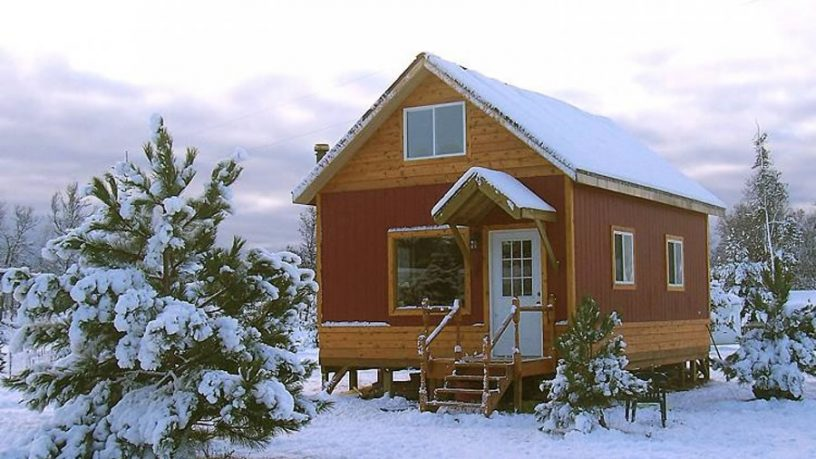 Tiny cottage house plan