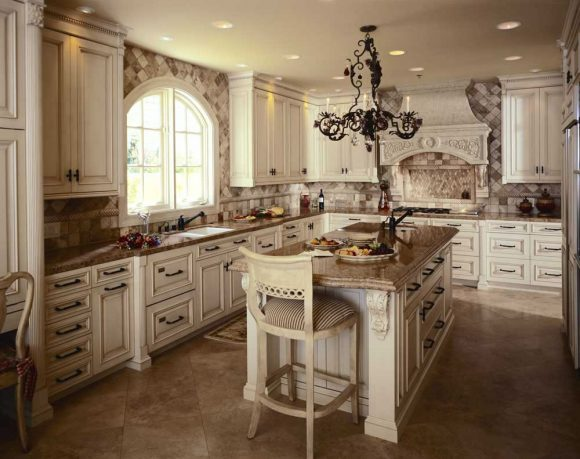 Antique style rustic kitchen