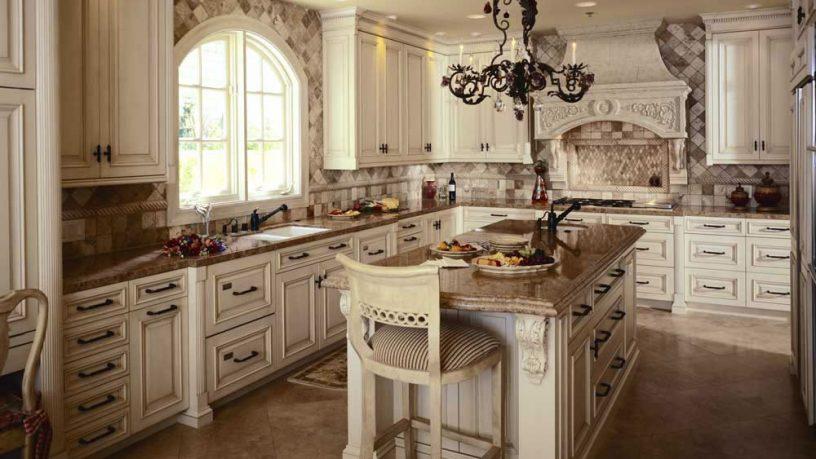 Antique style rustic kitchen