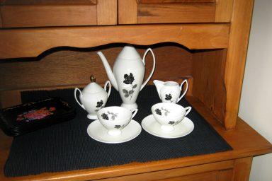 Classic vintage tea set