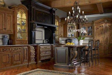 Rustic luxury kitchen