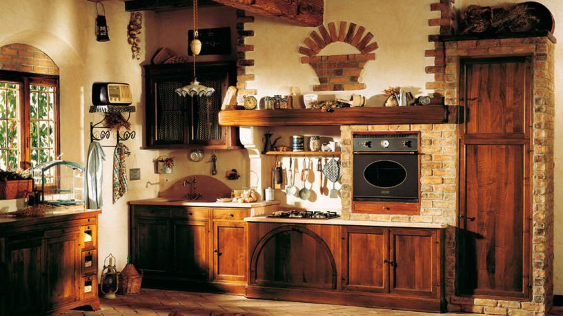 Rustic traditional kitchen