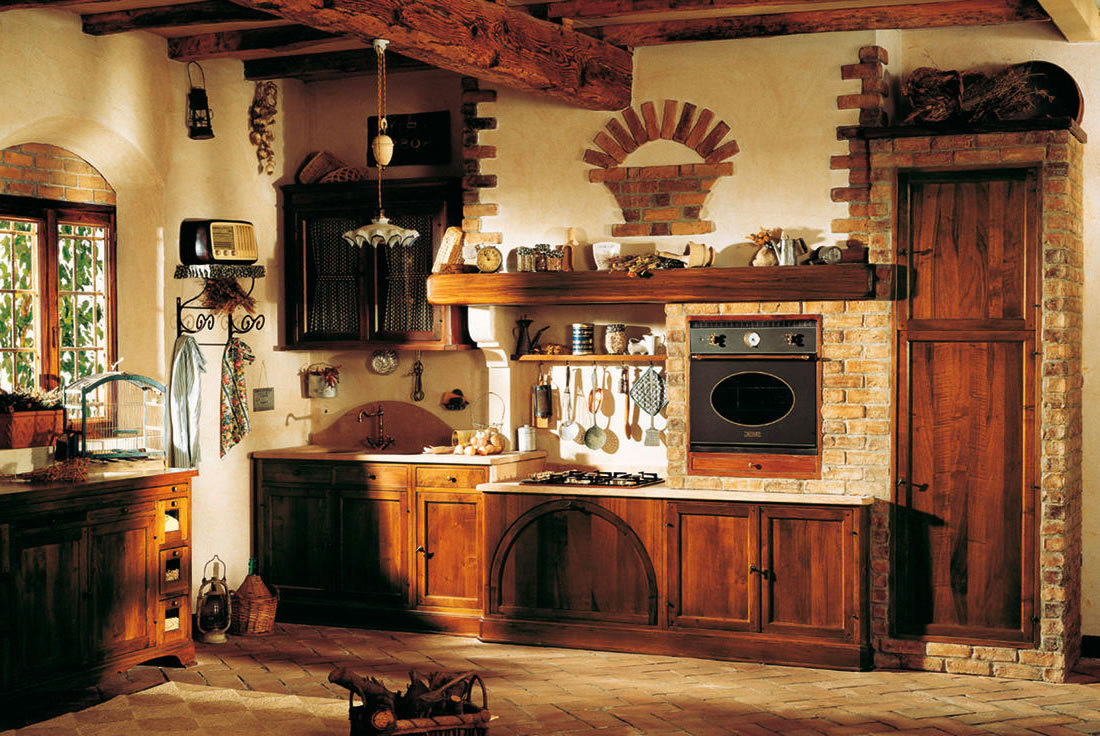 Rustic traditional kitchen - My Home Deco Mag on Traditional Rustic Decor  id=20663