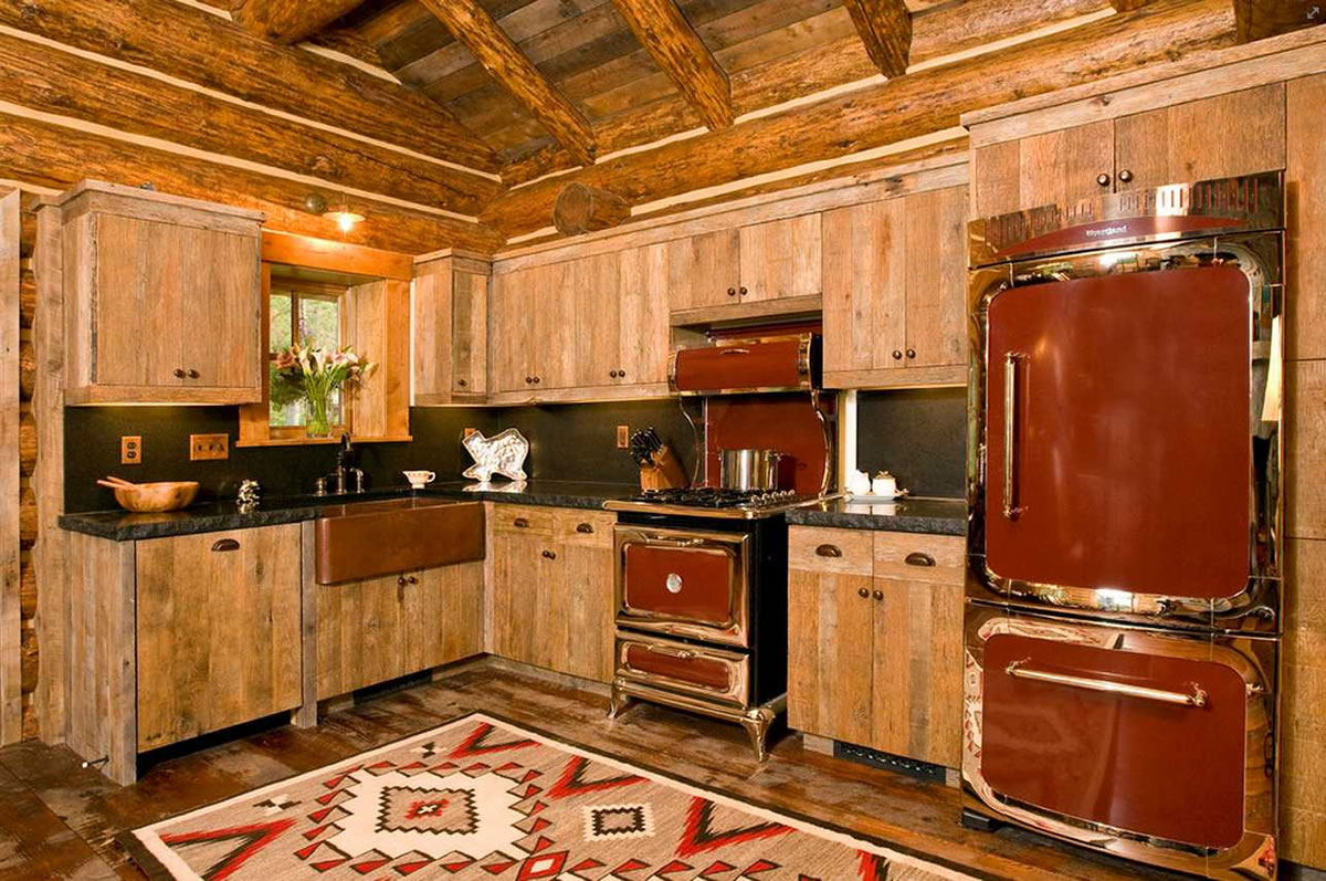 Rustic vintage kitchen